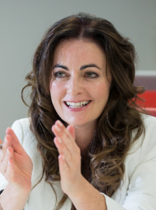 Immersive Technologies Skillnet Dr. Celine Mullins in white coat
