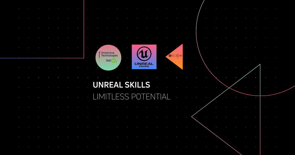 Immersive Technologies Skillnet Workshops Unreal Engine