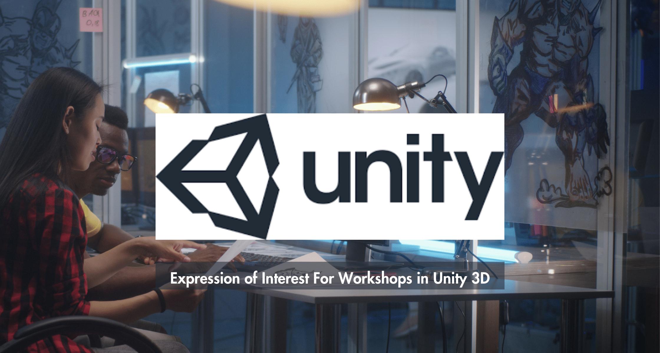 Immersive Technologies Skillnet and Unity 3d Logo